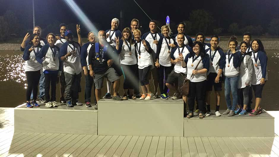 Team WeGoLook Takes 3rd in Dragon Boat Race