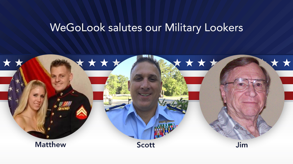 We Salute Our Military Lookers!