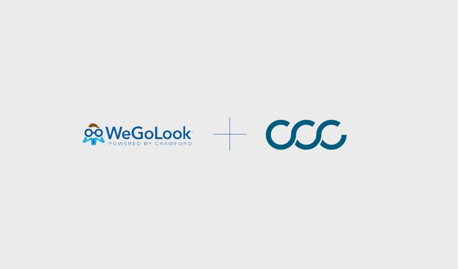 WeGoLook Connects to the CCC ONE Platform