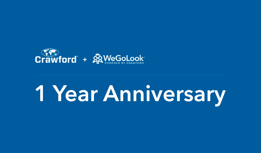 Crawford and WeGoLook Celebrate First Anniversary